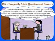 IVA – Frequently Asked Questions and Answers