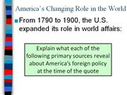 U.S.ForeignPolicy&Imperialism