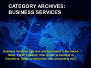 CATEGORY ARCHIVES BUSINESS SERVICES