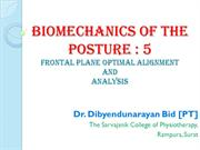 Posture  Biomechanics 5