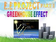 GREENHOUSE EFFECT AND ACID RAIN