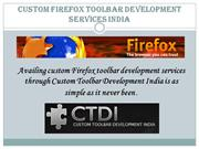 Custom Firefox Toolbar