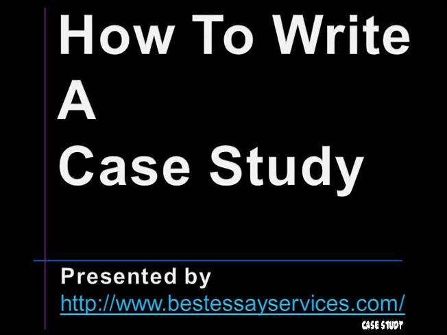 How to write case study paper