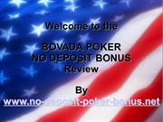 Guide To The Bovada Poker No Deposit Bonus for US Players