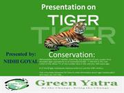 Tiger Conservation by Green Yatra
