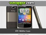 HTC Wildfire Cases by Wrappz