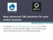 Most advanced CMS solutions for your online business