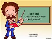 EDX3270 Assignment 1