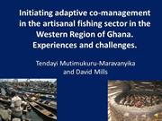 Adaptive co-management in the artisanal fishing sector in Ghana