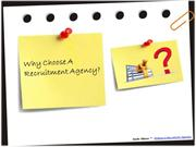 Why Choose A Recruitment Agency