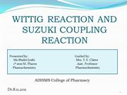 wittig reaction n suzuki reaction mechanism