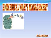 BIOMEDICAL WASTE MANAGEMENT AK