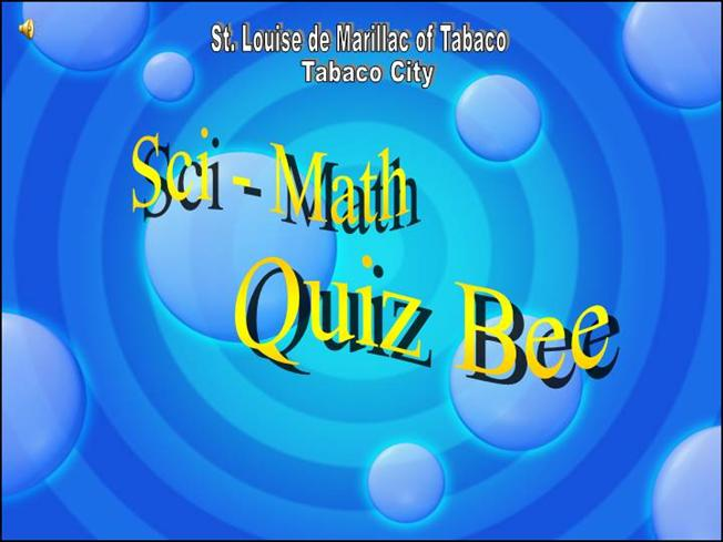 quiz bee presentation |authorstream, Modern powerpoint