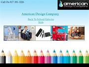 Back to School Gifts for Kids Online