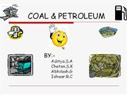 COAL & PETROLEUM aditya