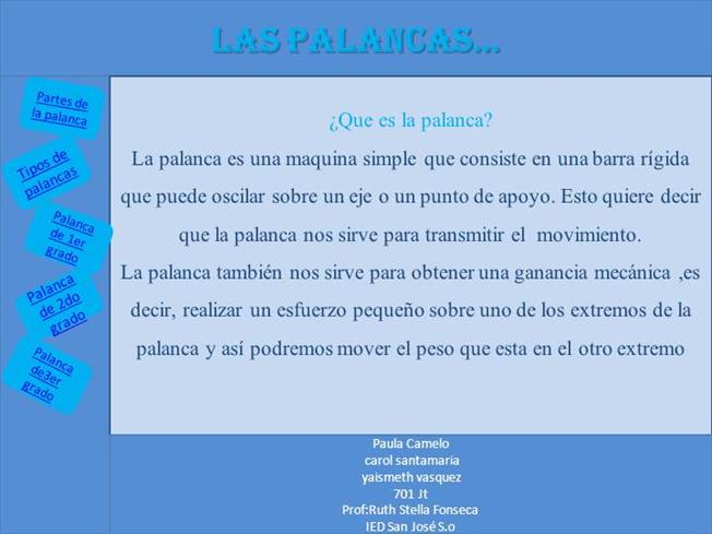 La Palanca Authorstream