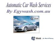 Automatic Car Wash Services by Egywash