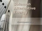 Solamon Alternative Energy - Foursquare Page