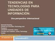 InnovaTIC Actuales y futuras tendencias en Tecnologas Nieves