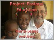 Project Pastoral Education Overview