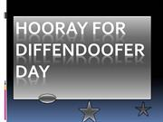 Hooray for diffendoofer day