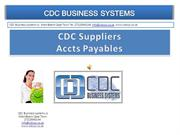 Accounts Payable/Suppliers