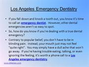 Los Angeles Emergency Dentistry 7-30