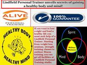 Lindfield Personal Trainer unveils secrets of gaining a healthy body a