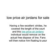 low price air jordans for sale