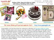 Online Gifts, Special Gifts to India, Gift Ideas, Sending Gifts India