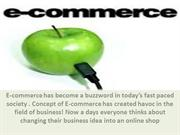 E-commerce rules the business world