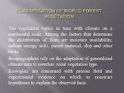 Classification of World Forest Vegetation.ppt 03