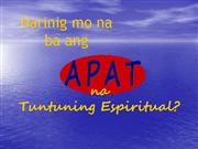 Four Spiritual Laws - Tagalog