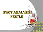 nestle_SWOT ANALYSIS