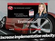 Testimonials for The Renegade Leader Book Part 3