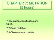 7 - Mutation