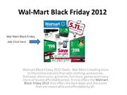 Wal-Mart Black Friday 2012