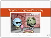 BIO 120 Chapter 3 Organic Chemistry (DHD Recorded)