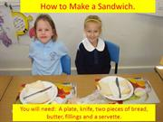 How to make a sandwich 2012