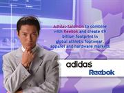 Adidas-Salomon to combine with Reebok