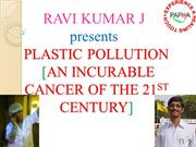 PLASTIC POLLUTION BY RAVI KUMAR J - Copy