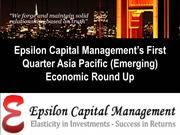 Epsilon Capital Managements First Quarter European (Emerging) Economi