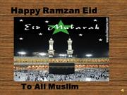 happy ramzan eid to all