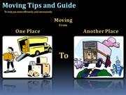 Planning Tips for Your Move