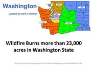 Wildfire burns more than 23,000 acres in Washington State