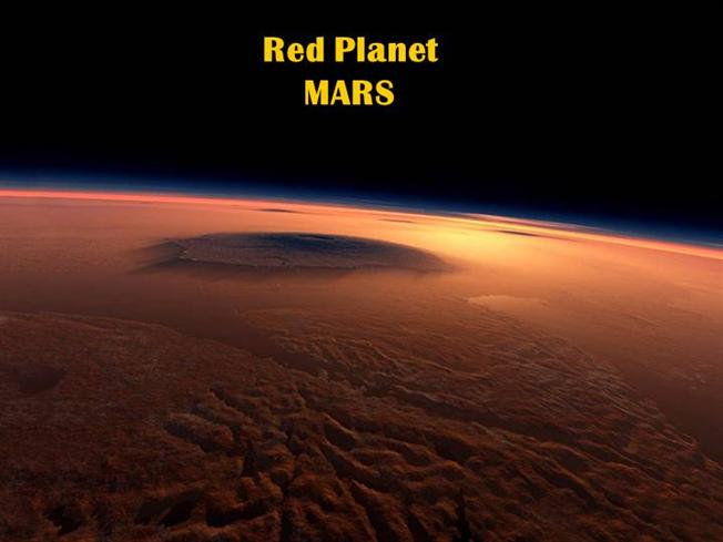 red planet mars authorstream