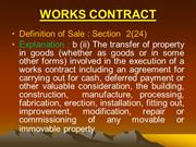 works contract.ppt
