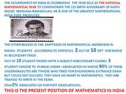 mathematics in india past present and future