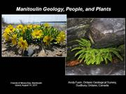 Manitoulin Geology, People, and Plants