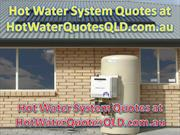 hot water systems prices